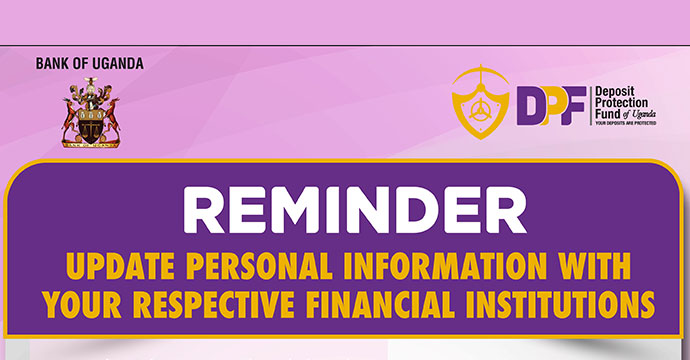 Update Personal Information With Your Respective Financial Institutions