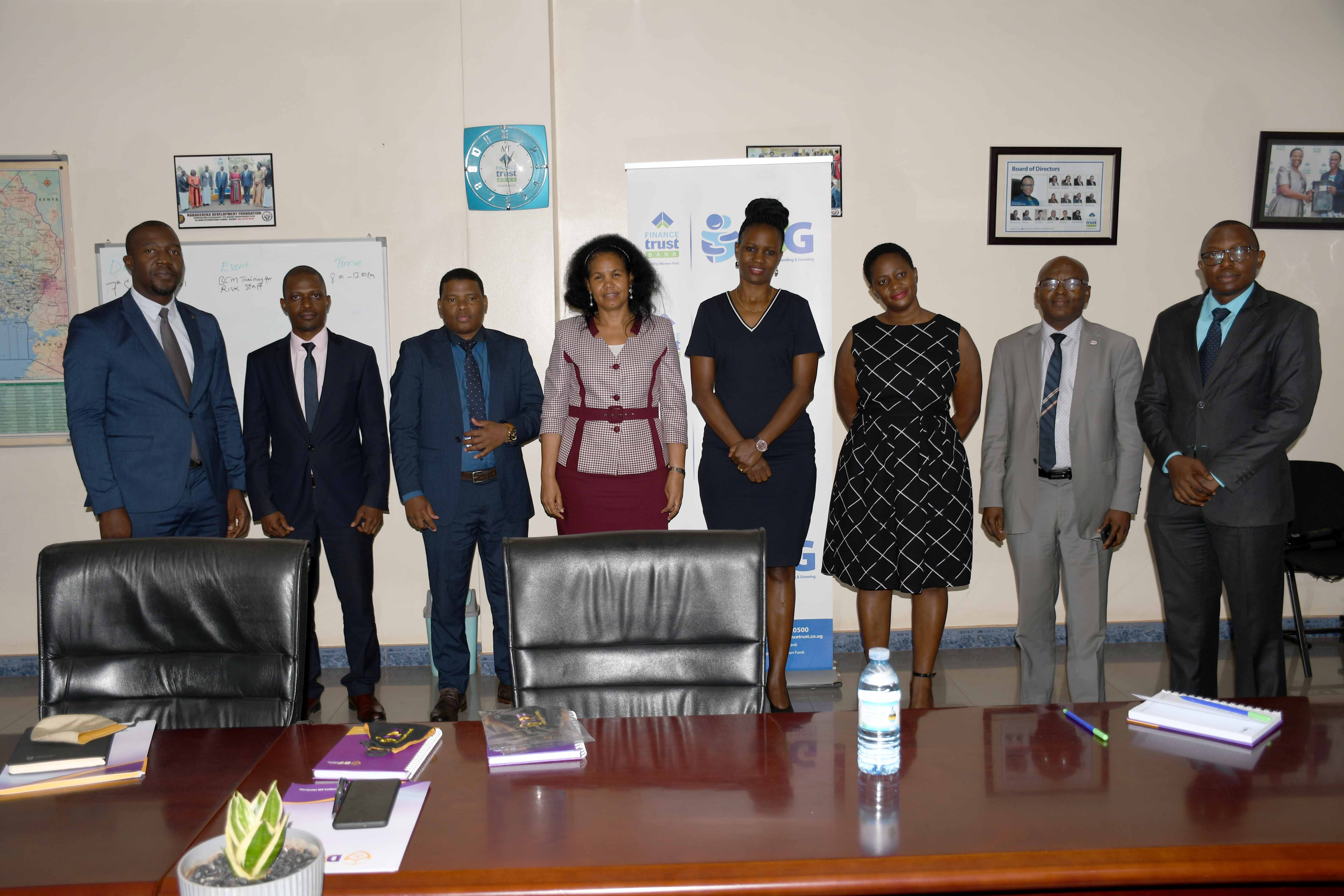 Courtesy Visit To Finance Trust Bank