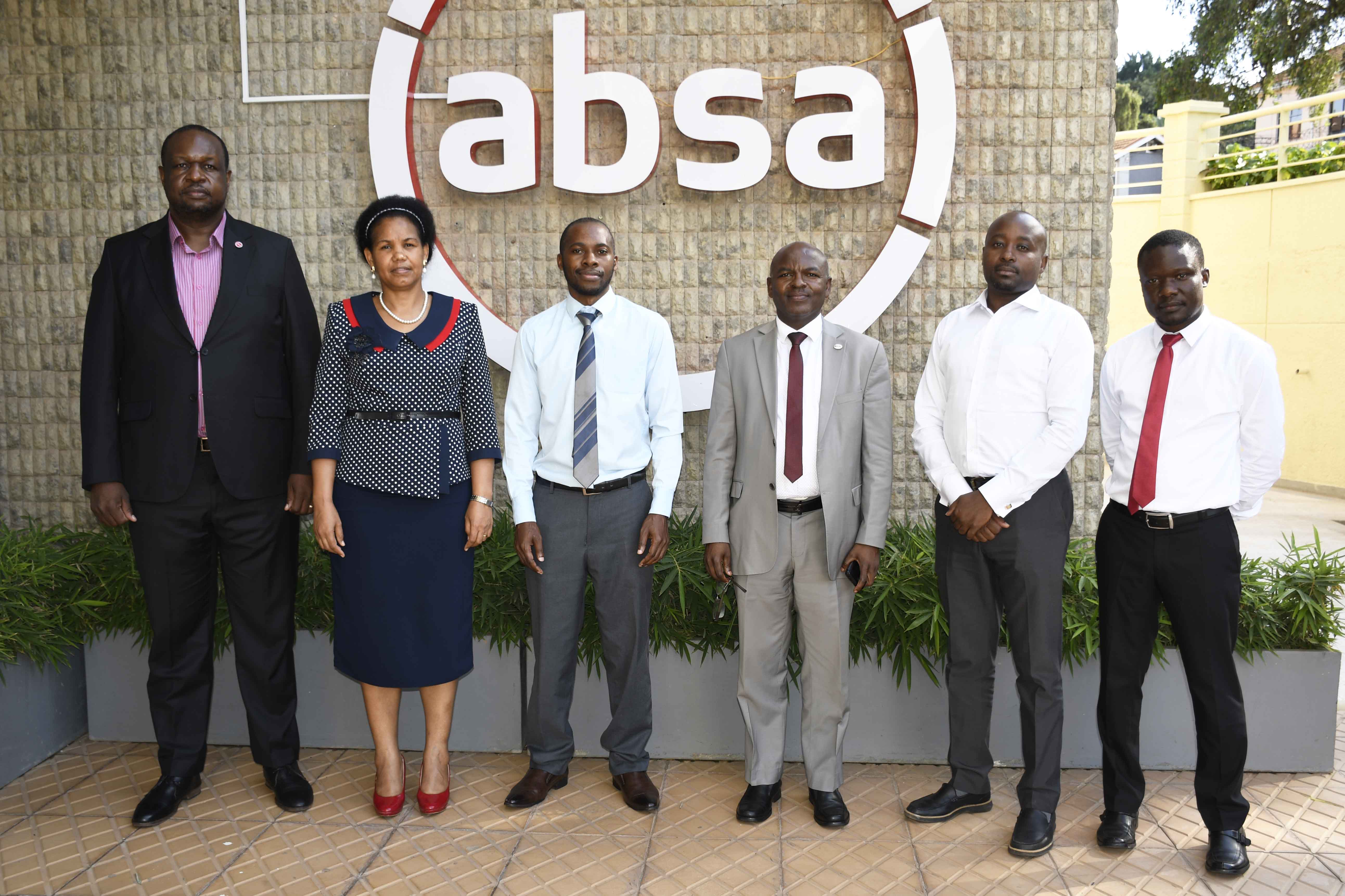 Courtesy Visit To Absa Bank