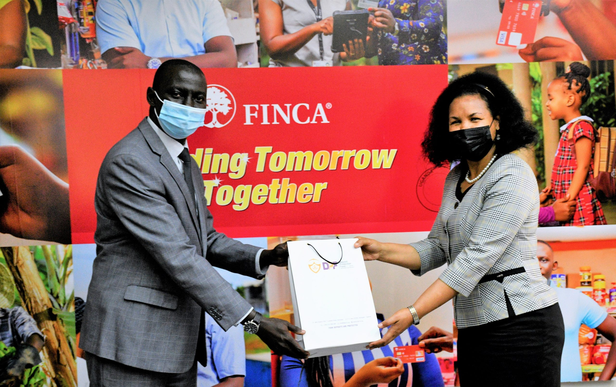 Courtesy Visit To FINCA Uganda By The Deposit Protection Fund Of Uganda